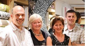 Photo of our dedicated team; Steve, Emma, Bronia, Pauline, Steve at your service